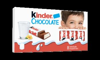 Kinder Chocolate, 8 шт.