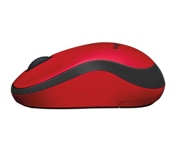 Wireless Mouse Logitech M220 Silent, Red