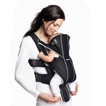 купить Анатомический рюкзак-кенгуру BabyBjorn Miracle Black-Silver в Кишинёве