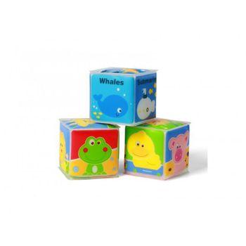 BabyOno  Мягкие кубики 3 штуки