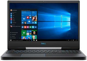 """DELL Inspiron Gaming 15 G5 Black (5590), 15.6"""" IPS FHD 300 nits (Intel Core i7-9750H, 2.6-4.5GHz, 16GB (2x8) DDR4 RAM, 256GB M.2 PCIe SSD+1TB, GeForce RTX 2060 6GB GDDR6, CR, WiFi-AC/BT5.0,  4cell,HD720p Webcam, Backlit KB, RUS, Ubuntu, 2.68 kg)"""