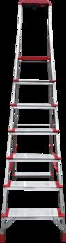 купить Стремянка с площадкой и лотком для инструмента (7ст - широкие) 5150107 в Кишинёве