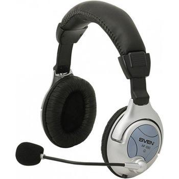 Наушники с микрофоном SVEN AP-880