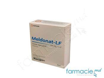купить Meldonat-LF sol. inj. 500 mg/5 ml 5 ml  N5x2 в Кишинёве