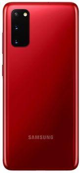 купить Samsung Galaxy S20 G980 Duos 8/128Gb, Aura Red в Кишинёве