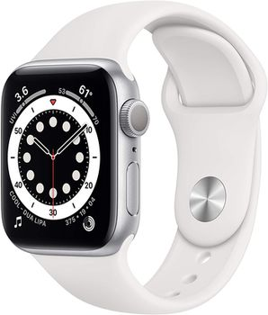 Apple Watch Series 6 GPS, 40mm Silver