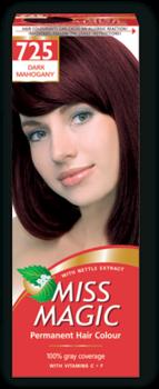 Краска для волос,SOLVEX Miss Magic, 90 мл., 725 - Тёмный махагон