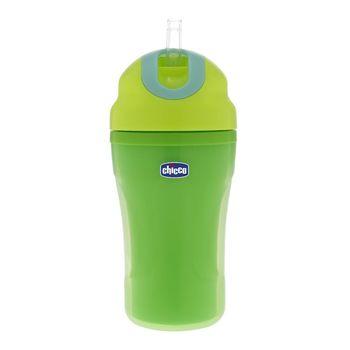 cumpără Chicco Canuță cu pai, verde, 18+, 266 ml (68255) în Chișinău