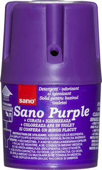 cumpără Sano Purple săpun container pentru rezervorul de toaletă (150 g) 990 344 în Chișinău