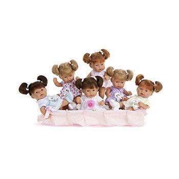 Кукла Тита с хвостиками 26 см Код 4059