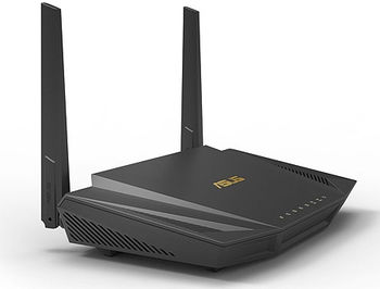 ASUS RT-AX56U, AX1800 Dual Band WiFi 6 (802.11ax) Gigabit Router, dual-band 2.4GHz/5GHz at up to super-fast 1800Mbps , WAN:1xRJ45 LAN: 4xRJ45 10/100/1000, 3G/4G, Firewall, USB 2.0/USB 3.1 (router wireless WiFi/беспроводной WiFi роутер)