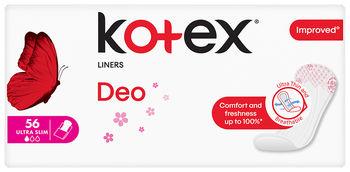 купить Ежедневные прокладки Kotex SuperSlim Deo, 56 шт. в Кишинёве