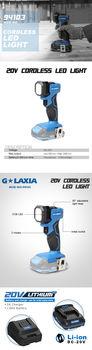 купить Перезаряжаемый портативный светодиодный светильник Galaxia 94103 20Вт в Кишинёве