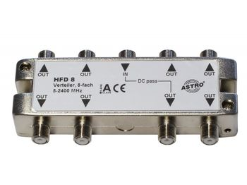 купить HFD 8 (Splitter 8-way, 5 - 2400 MHz) в Кишинёве