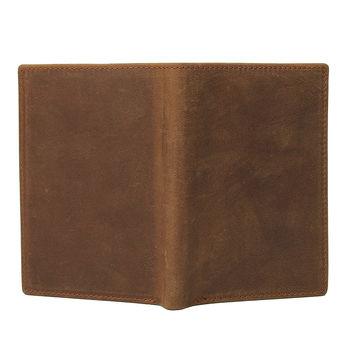 купить Kошелек в стиле ретро, для карт, паспорт, Dark coffee в Кишинёве