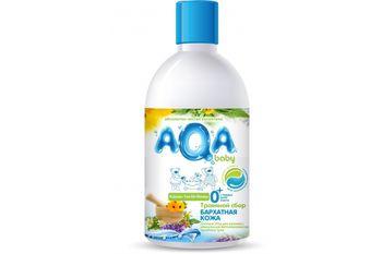 купить AQA baby Травяной сбор для купания малышей Бархатная кожа 300 мл в Кишинёве