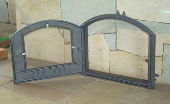 купить Дверца чугунная со стеклом левая DCHS3 в Кишинёве