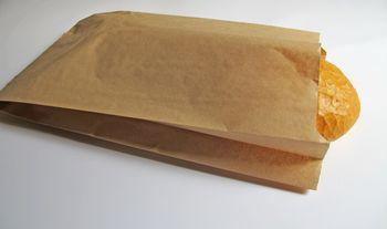 Бумажные пакет  16*18 см