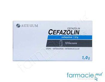 купить Cefazolin pulb./sol. inj. 1 g  N10 (KMP) в Кишинёве