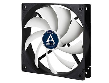Case/CPU FAN Arctic F12 TC, Temperature Control, 120x120x25 mm, 3-pin, 300-1350rpm, Noise 0.3 Sone, 53 CFM / 90.1 m3/h