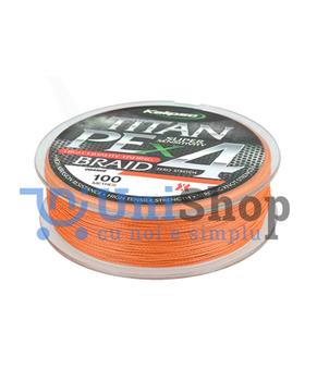 Шнур Kalipso Titan PE X4 OR 100м 0,12мм