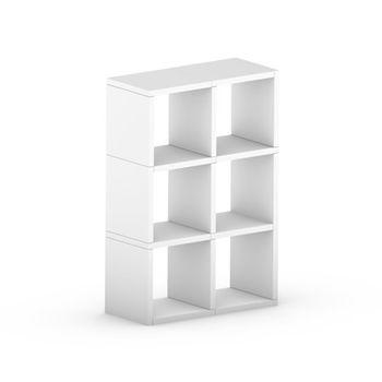 cumpără Etajeră Boon 1112x740x330 mm,alb în Chișinău