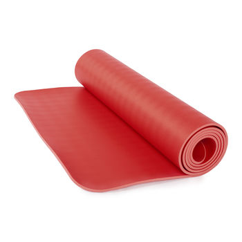 Mat pentru yoga  Bodhi ECOPRO DIAMOND RED -6mm