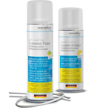 Aircondition Foam Cleaner+Klima Fresh Aerosol