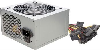 купить 450W ATX Power supply Linkworld LPW12-25, 450W, 2xSATA cables, 12cm FAN Low Noise, Retail+Power Cable в Кишинёве