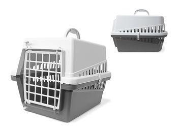 Контейнер для переноски животных 50X33X19cm до 8кг, пластик