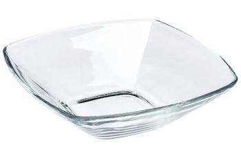 Тарелка для супа Eclissi 17Х17cm, прозрачная