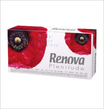 купить RENOVA Салфетки Plenitude Maxi (80) в Кишинёве