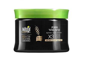 купить Natural Formula Маска для волос на основе кератина (350 мл) 961892 в Кишинёве