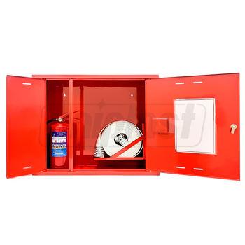 купить Шкаф пожарный НАВЕСНОЙ со стеклом, с отсеком для 1рукава и 1огнетуш. 760х650х230  ШПК-315 НОК ФАЭКС в Кишинёве