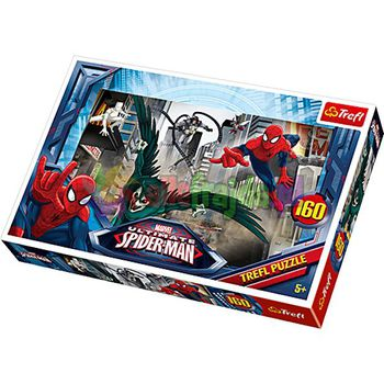 "15319 Trefl Puzzles - ""160"" -Chasing the villian/Disney Marvel Spiderman"