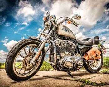 Картина по номерам 40x50 Мотоцикл RA3379