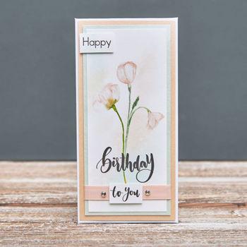 """Конверт """"Happy Birthday"""""""