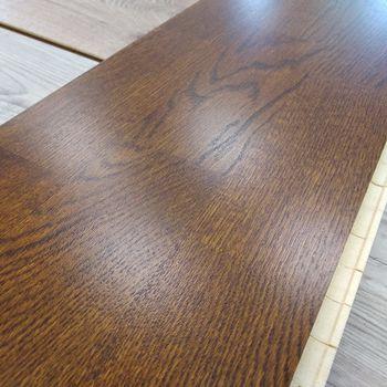Паркетная доска Oak Toscana/Gunstock Tehno, 3-strips EIKHLNPTD