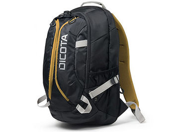 "Dicota D31048 Backpack Active black/yellow 14""-15.6"", Premium notebook backpack with a sporty design, (rucsac laptop/рюкзак для ноутбука)"