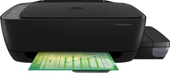 All-in-One Printer HP Ink Tank Wireless 410 + СНПЧ,Black, A4, up to 19ppm/15ppm black/color, up to 4800x1200 dpi, Wi-Fi Direct printing, Up to 800 pages/month, 7 segment LCD, Hi-Speed USB 2.0, (GT51 Black 90ml, GT51XL Black 135ml, GT52 C/M/Y 70ml)