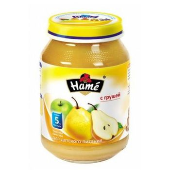 купить Hame пюре яблоко и груша, 6+мес. 190г в Кишинёве