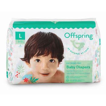 купить Органические подгузники Offspring L (9-13 kg) 36 шт в Кишинёве