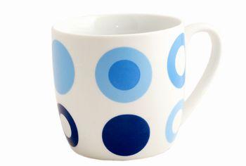 Чашка в горошек 350ml