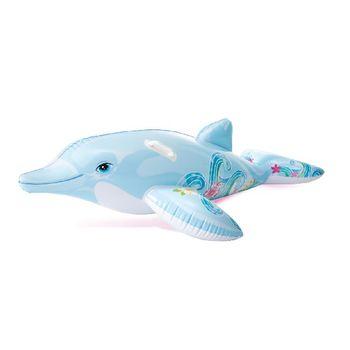 """Плот надувной с ручками """"Дельфин"""" 175x66 см Intex 58535 (5088)"""