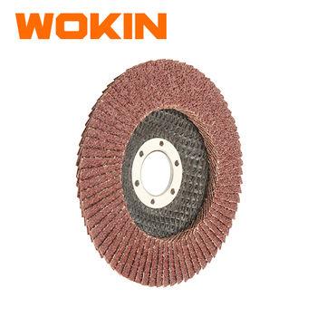 купить Диск лепестковый шлифовальный 125*22.2/120# Wokin в Кишинёве