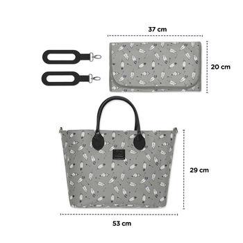купить Рюкзак для коляски Kinderkraft Mommy Bag Grey в Кишинёве