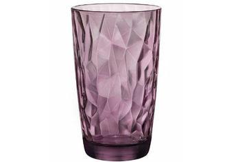 Стакан для напитков Diamond 470ml, фиолетовый
