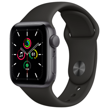 Apple Watch SE 40mm (MYDP2), Space Gray / Black