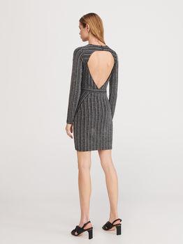 Платье RESERVED Черный/Серый xm015