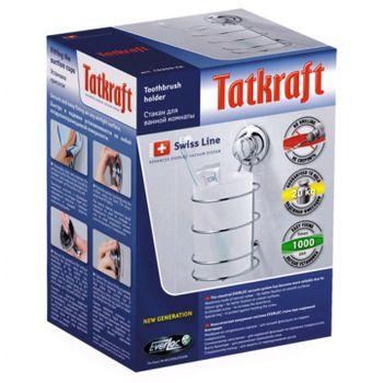 cumpără Pahar de perete pentru baie Tatkraft SWISS LINE 10209-TK în Chișinău
